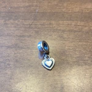 Last Chance Sale! Pandora Dangle Heart Charm